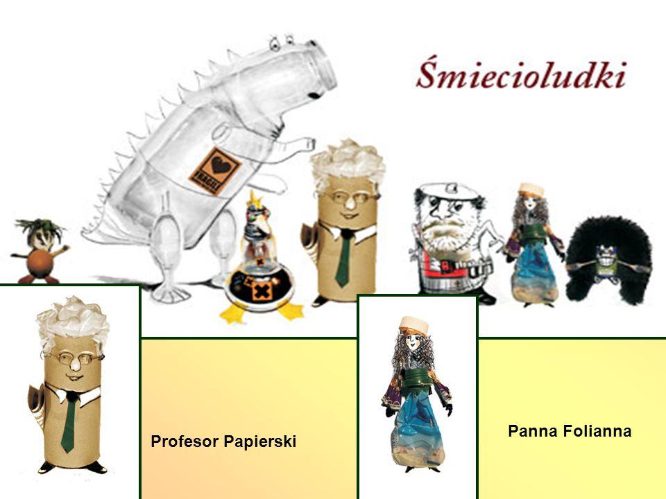 Panna Folianna Profesor Papierski