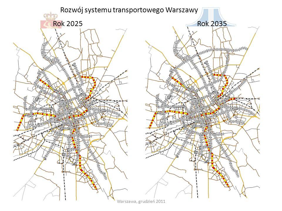 Rozwój systemu transportowego Warszawy