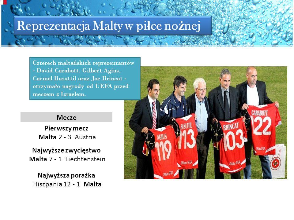 Reprezentacja Malty w piłce nożnej