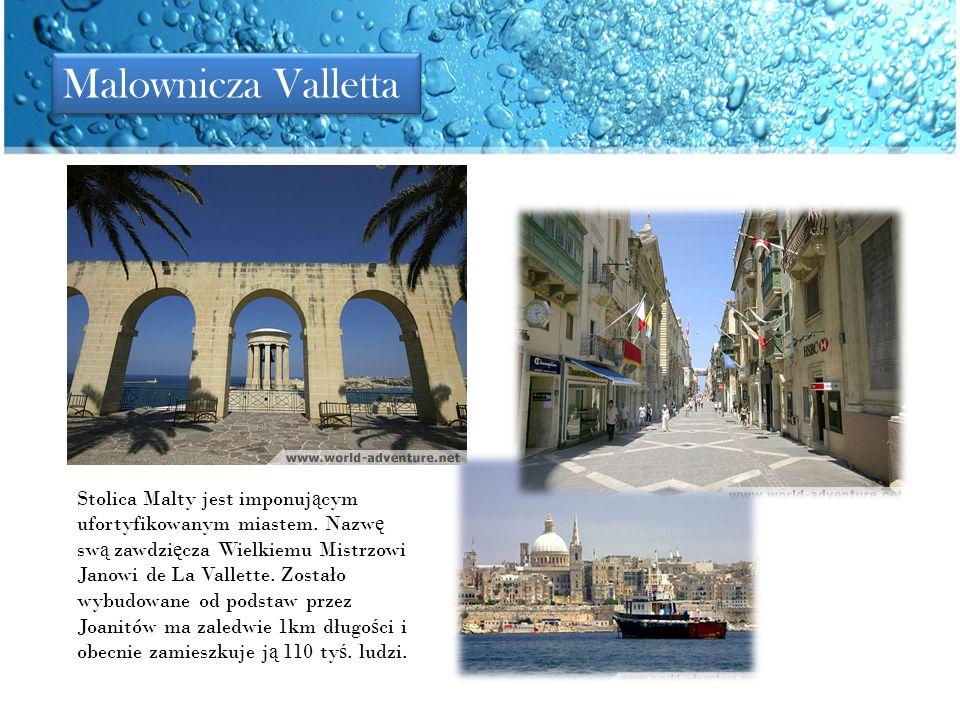Malownicza Valletta