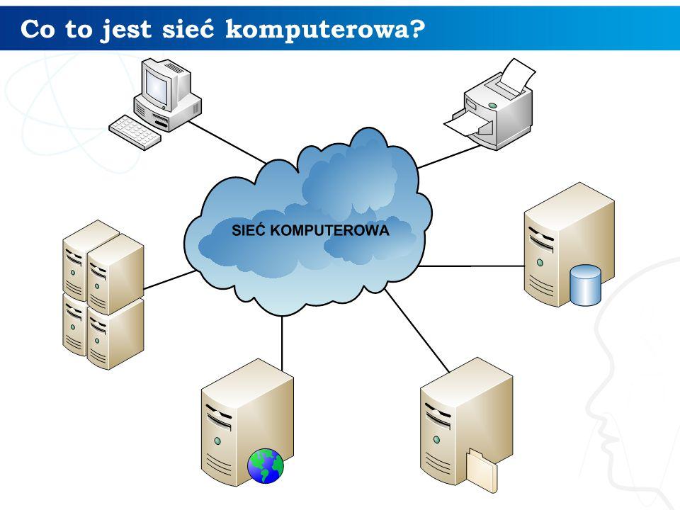 Co to jest sieć komputerowa