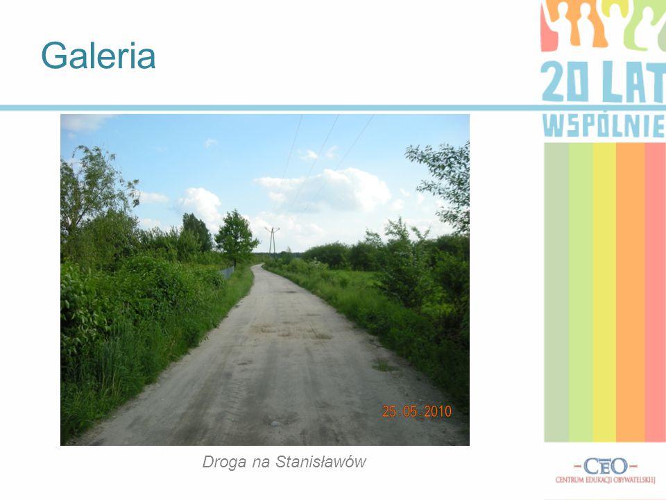 Galeria Droga na Stanisławów Droga na Stanisławów