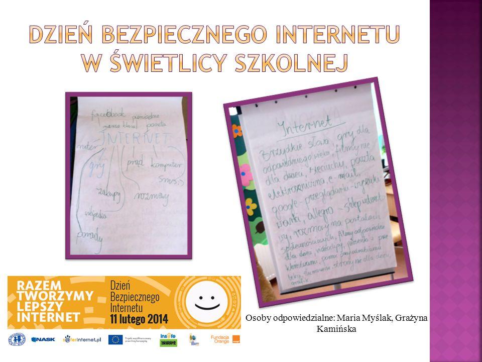Dzień Bezpiecznego Internetu w świetlicy szkolnej