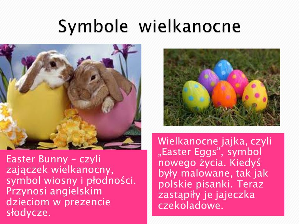 Symbole wielkanocne
