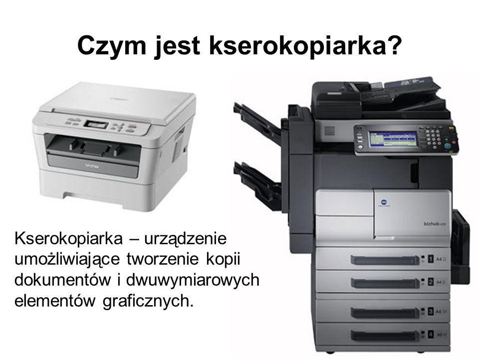 Czym jest kserokopiarka