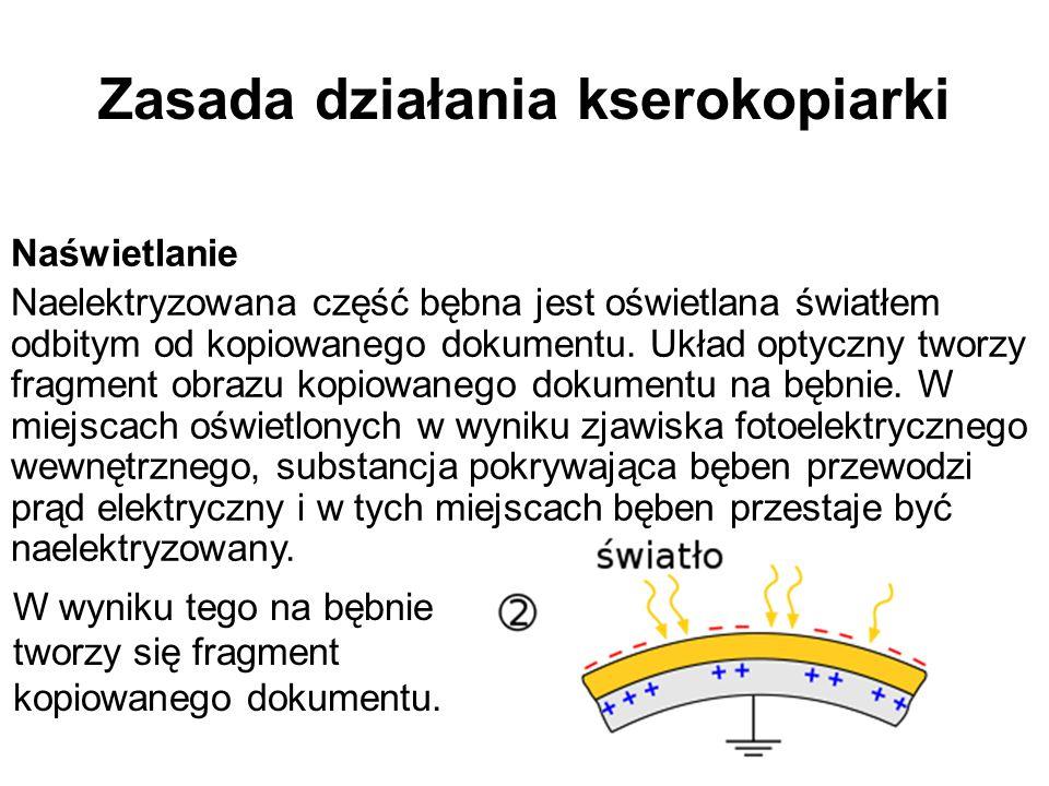 Zasada działania kserokopiarki