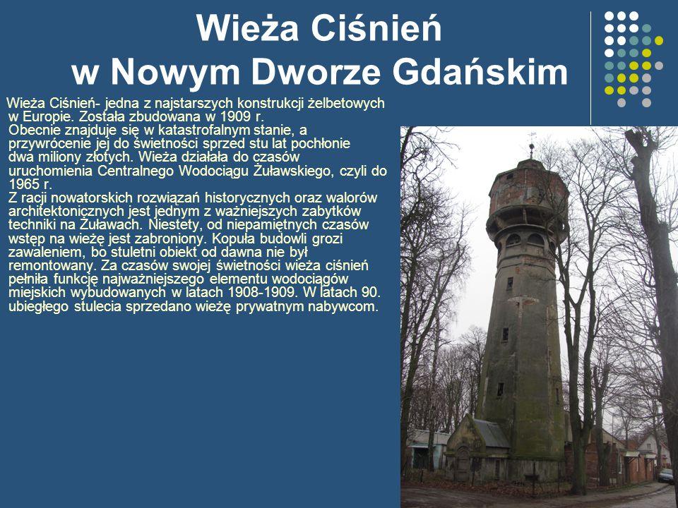 Wieża Ciśnień w Nowym Dworze Gdańskim
