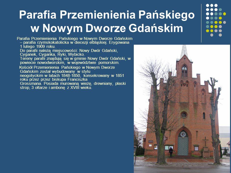 Parafia Przemienienia Pańskiego w Nowym Dworze Gdańskim