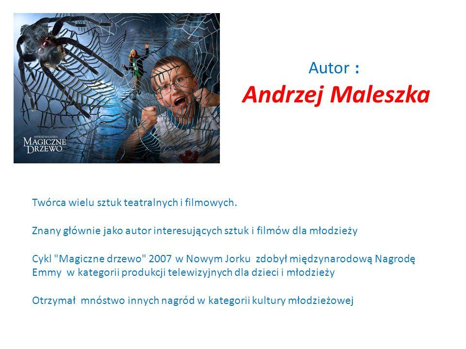 Autor : Andrzej Maleszka