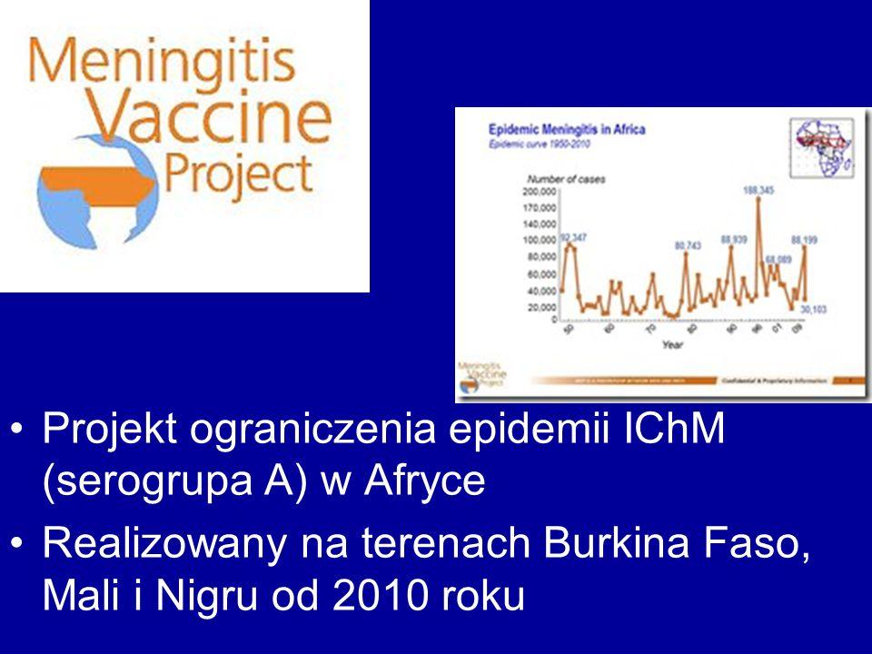 Projekt ograniczenia epidemii IChM (serogrupa A) w Afryce
