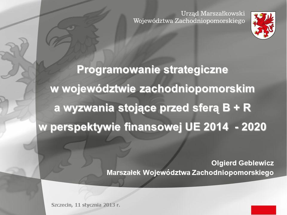Programowanie strategiczne w województwie zachodniopomorskim