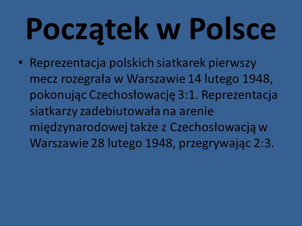 Początek w Polsce