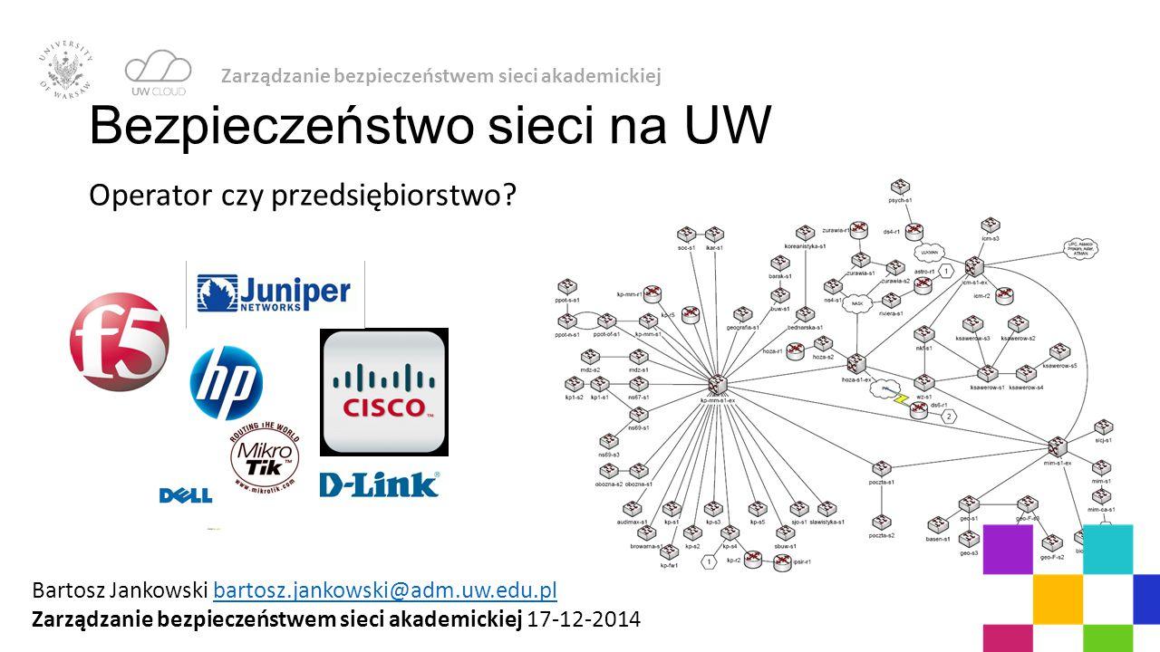 Bezpieczeństwo sieci na UW
