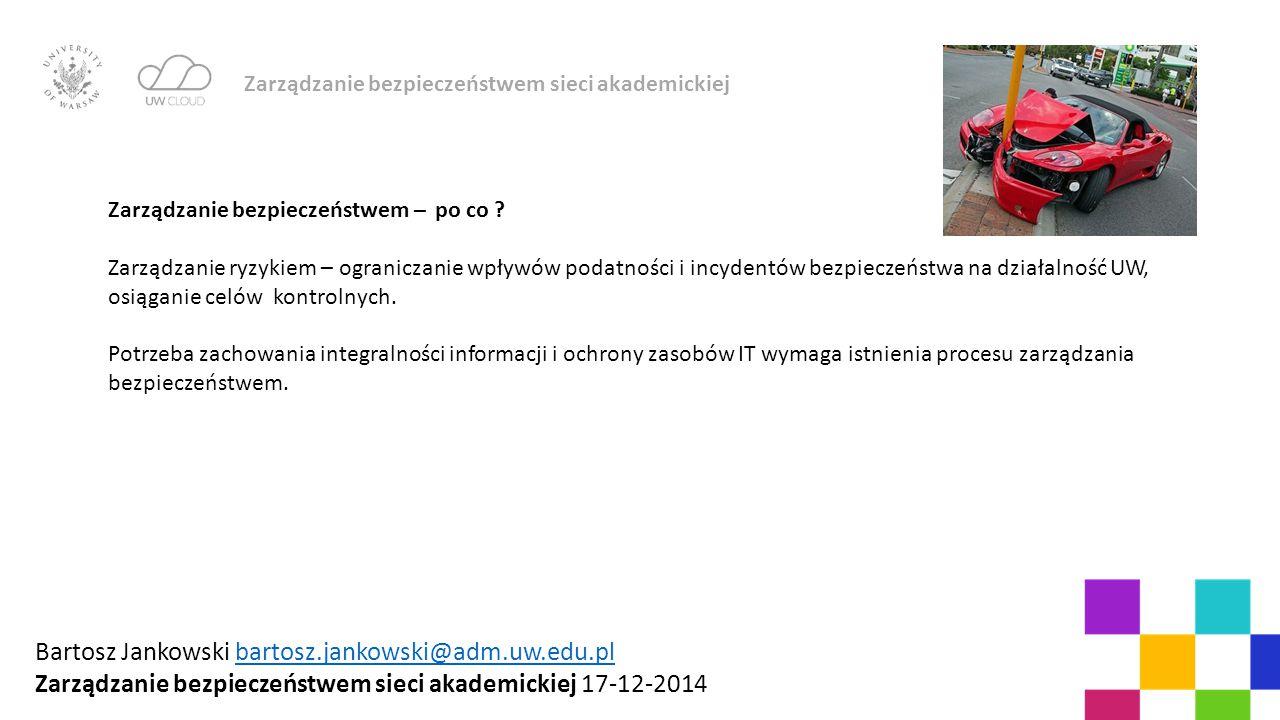 Bartosz Jankowski bartosz.jankowski@adm.uw.edu.pl
