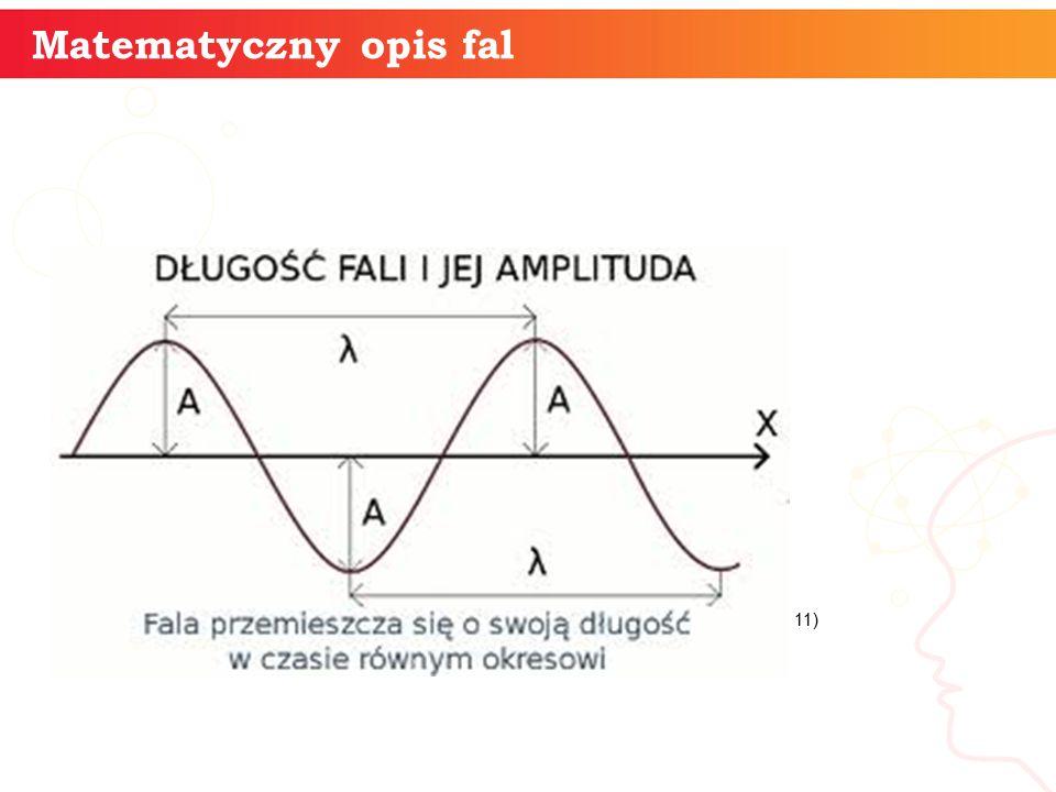 Matematyczny opis fal 11)