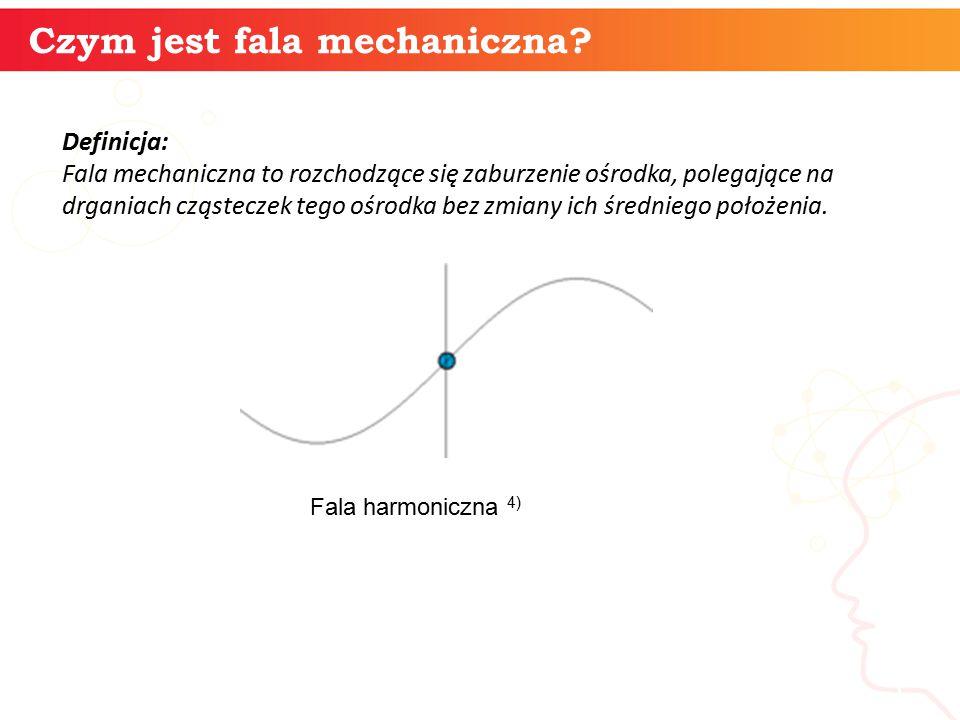 Czym jest fala mechaniczna