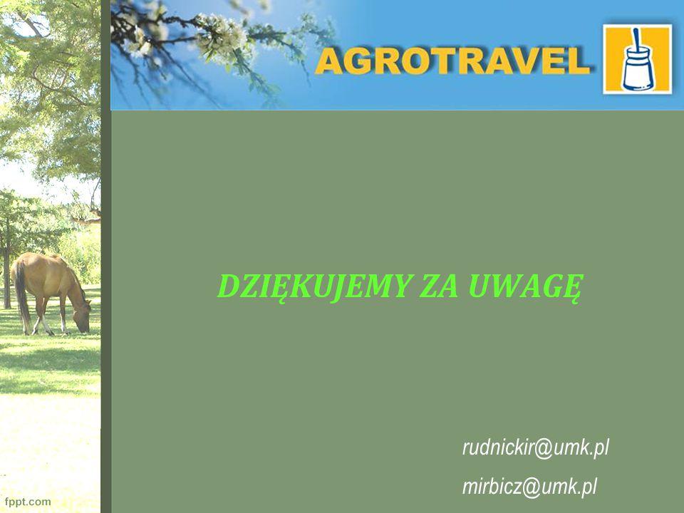 DZIĘKUJEMY ZA UWAGĘ rudnickir@umk.pl mirbicz@umk.pl