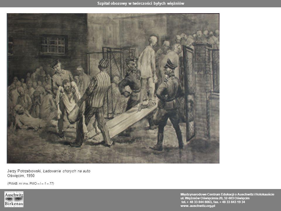 Szpital obozowy w twórczości byłych więźniów