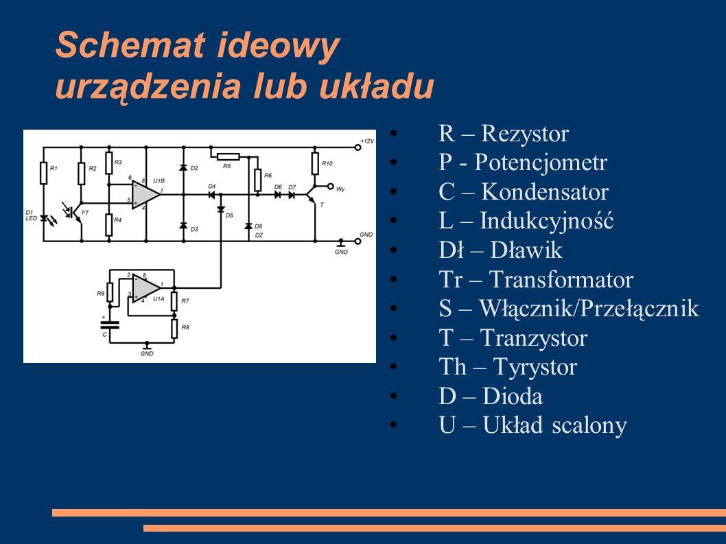 Schemat ideowy urządzenia lub układu