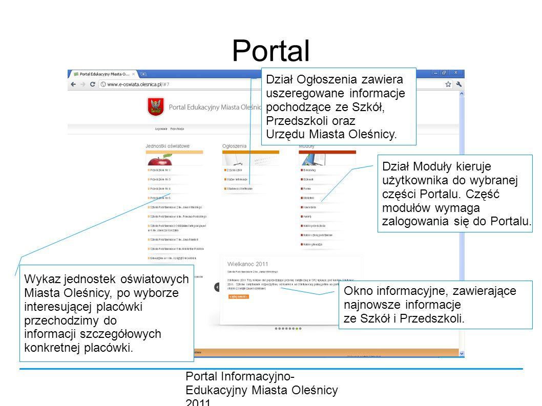 Portal Dział Ogłoszenia zawiera uszeregowane informacje