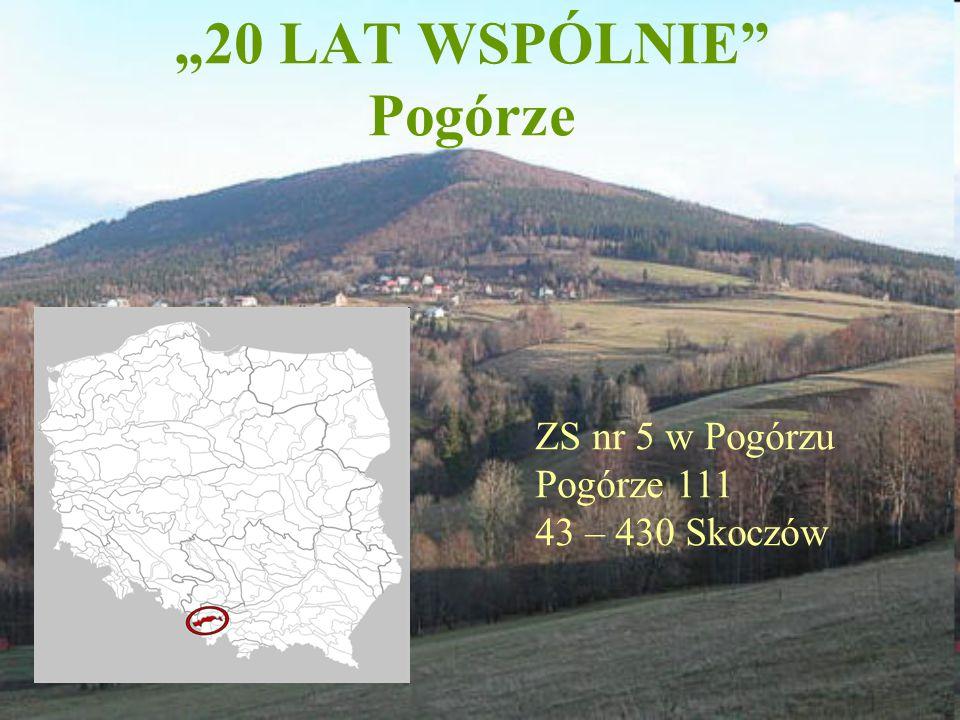 """""""20 LAT WSPÓLNIE Pogórze"""