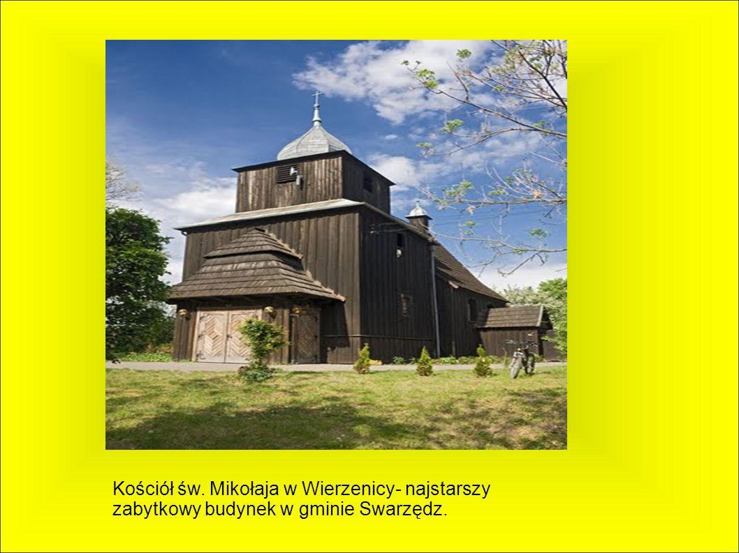 Kościół św. Mikołaja w Wierzenicy- najstarszy zabytkowy budynek w gminie Swarzędz.
