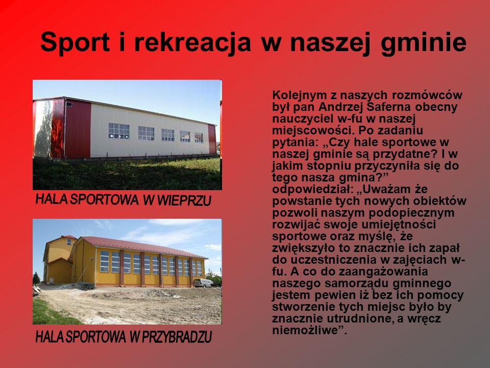Sport i rekreacja w naszej gminie