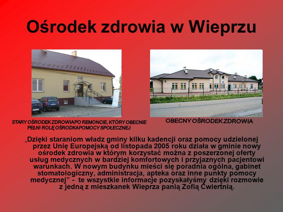 Ośrodek zdrowia w Wieprzu