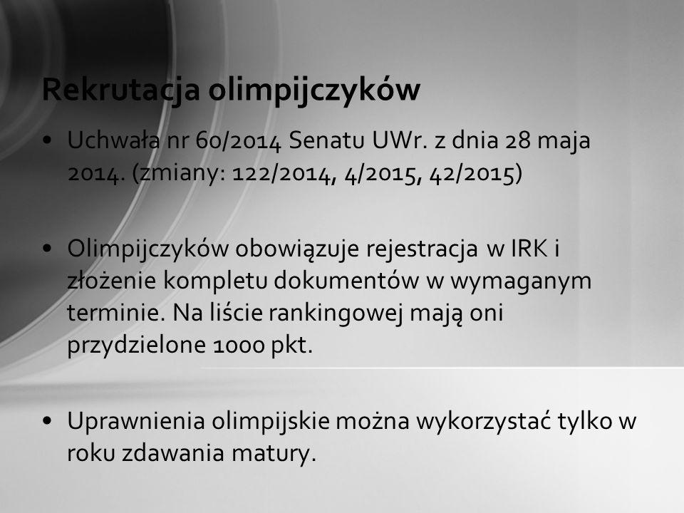 Rekrutacja olimpijczyków