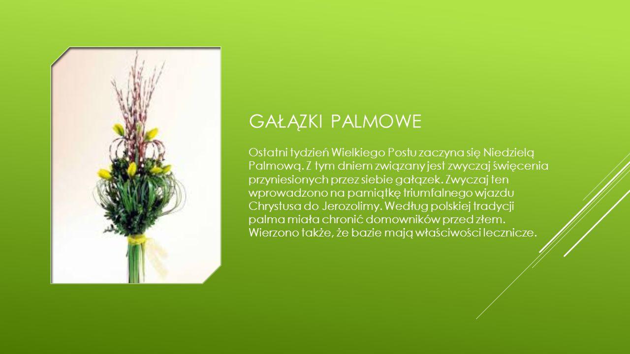 gałązki palmowe