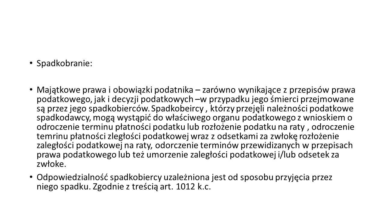 Spadkobranie:
