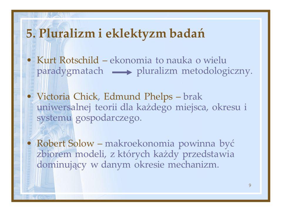 5. Pluralizm i eklektyzm badań