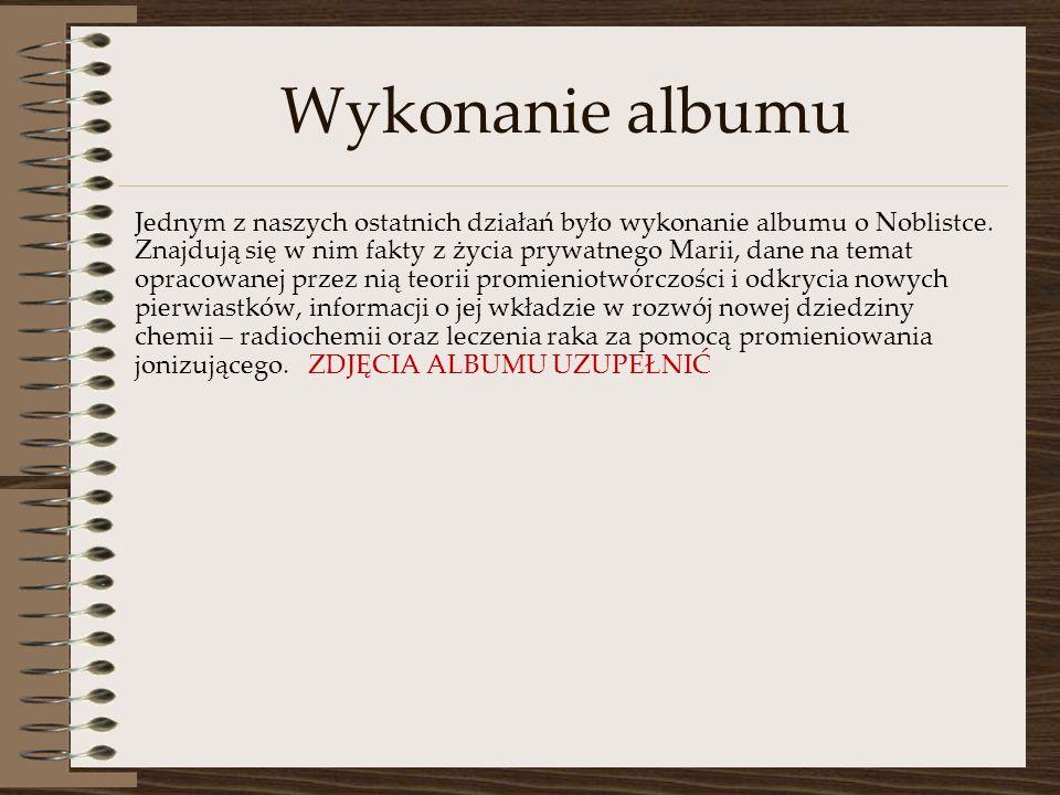 Wykonanie albumu