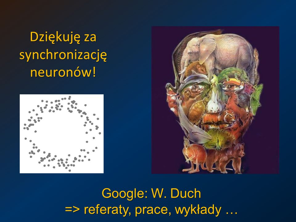 Dziękuję za synchronizację neuronów!