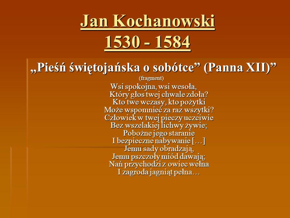 """Pieśń świętojańska o sobótce (Panna XII)"