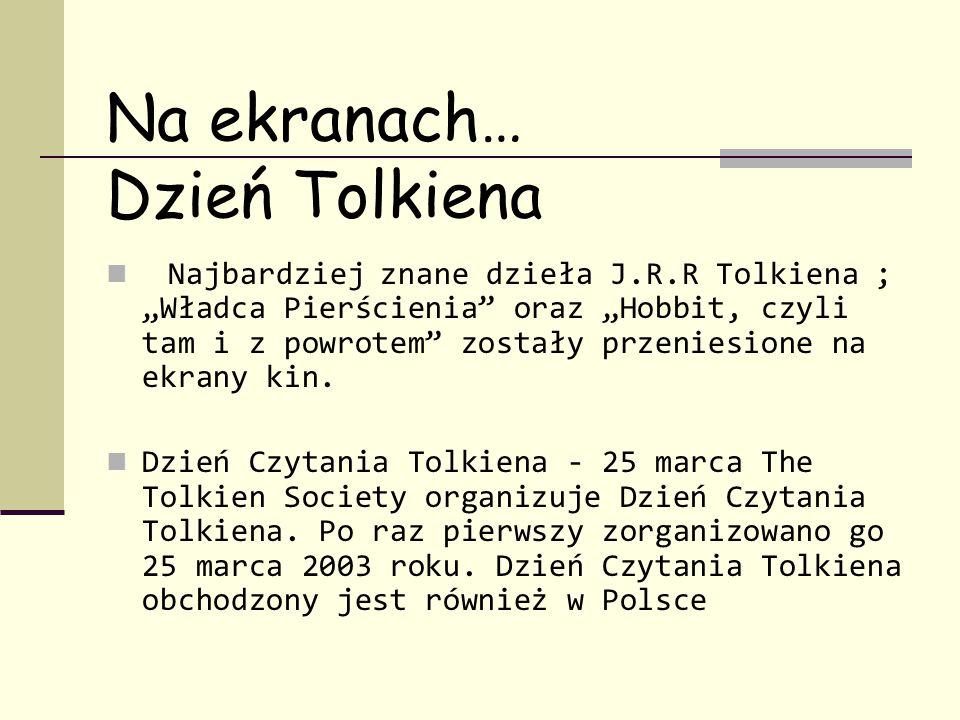 Na ekranach… Dzień Tolkiena