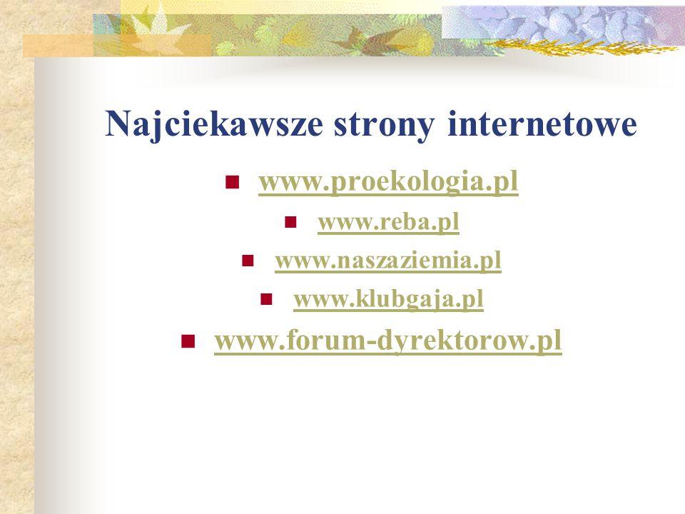 Najciekawsze strony internetowe