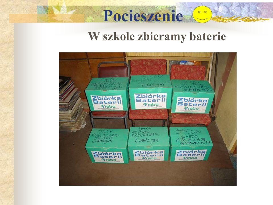 W szkole zbieramy baterie