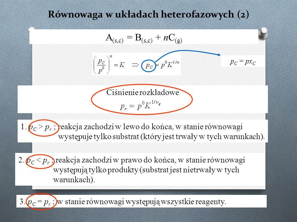 Równowaga w układach heterofazowych (2)