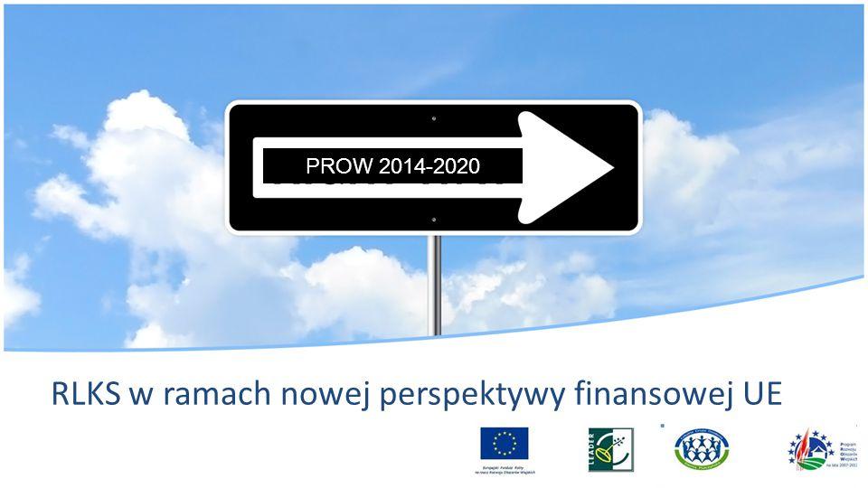 RLKS w ramach nowej perspektywy finansowej UE