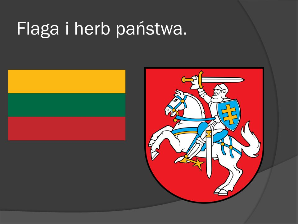 Flaga i herb państwa.
