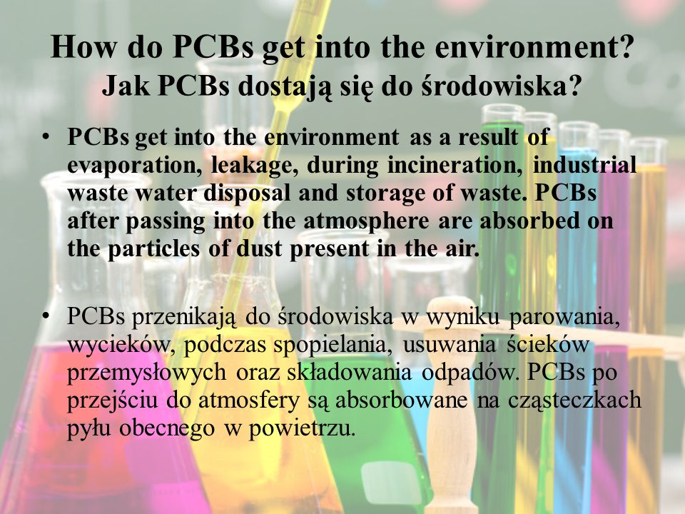How do PCBs get into the environment