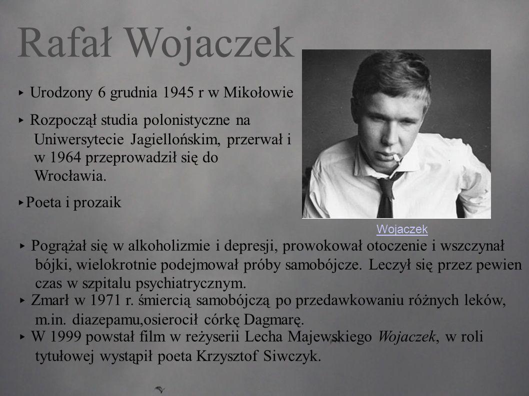 Rafał Wojaczek ▸ Urodzony 6 grudnia 1945 r w Mikołowie
