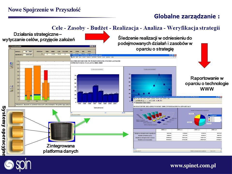 Globalne zarządzanie : Cele - Zasoby - Budżet - Realizacja - Analiza - Weryfikacja strategii