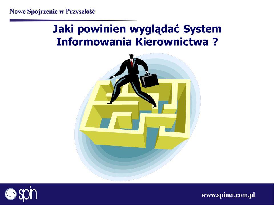 Jaki powinien wyglądać System Informowania Kierownictwa