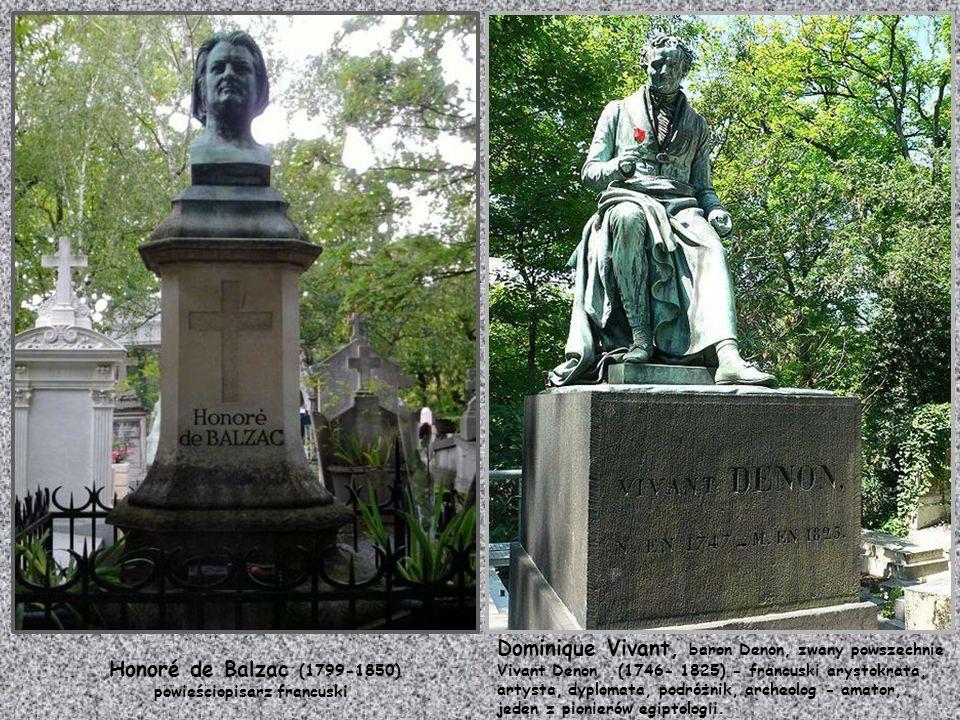Honoré de Balzac (1799-1850) powieściopisarz francuski