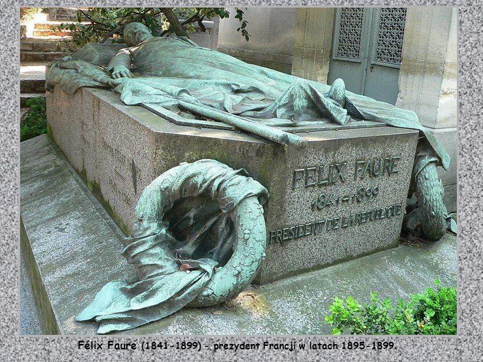 Félix Faure (1841-1899) - prezydent Francji w latach 1895-1899.