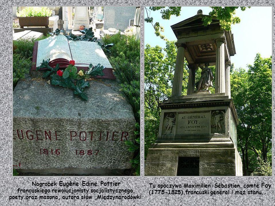 Nagrobek Eugène Edine Pottier