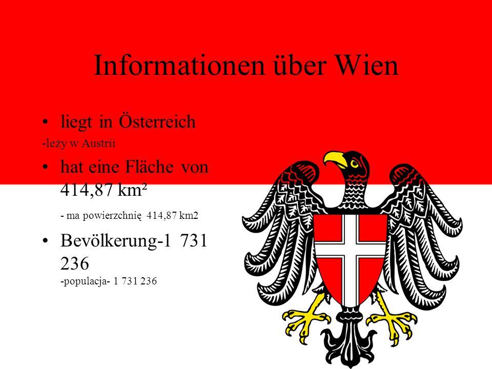 Informationen über Wien