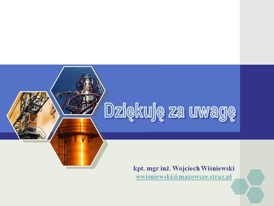 kpt. mgr inż. Wojciech Wiśniewski